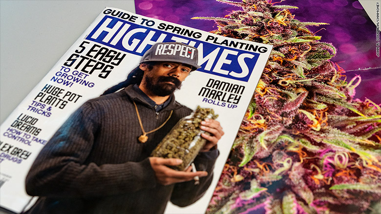 Damian Marley New Part Owner of High Times Mag!!