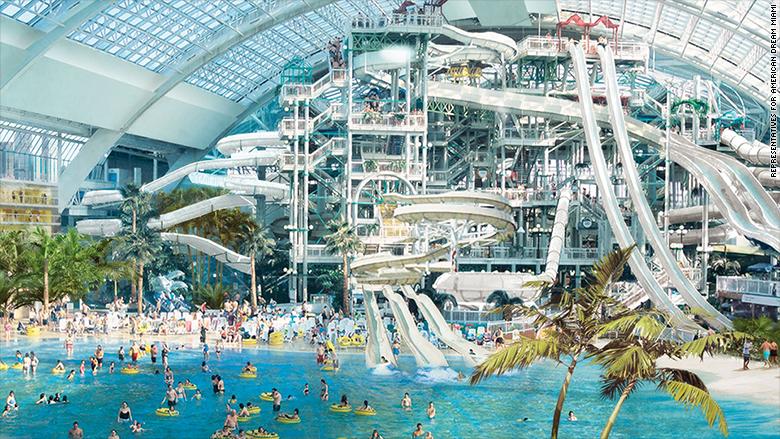 megamall miami waterpark