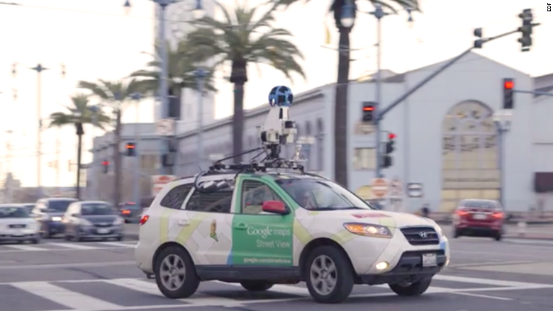 Google Cars Become Air Pollution Monitors In New Study
