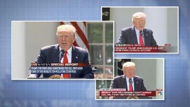Trump's Paris decision puts climate change in rare media spotlight