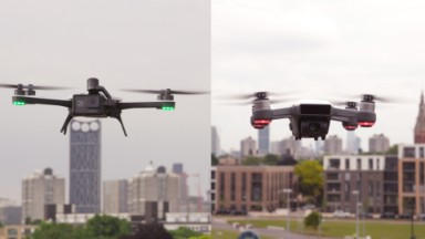 DJI Spark vs. GoPro Karma: The parkour face-off