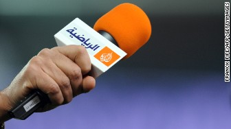 al jazeera logo mic