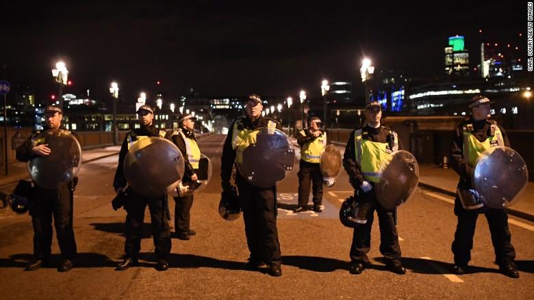 london attack bridge police