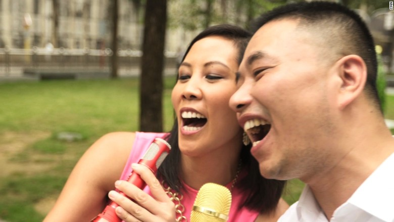 image of Karaoke on the go in China