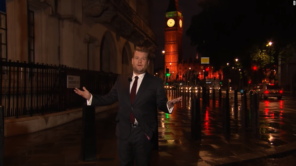 James Corden's love letter to London