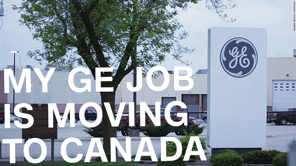 GE factory jobs move from Wisconsin to Canada