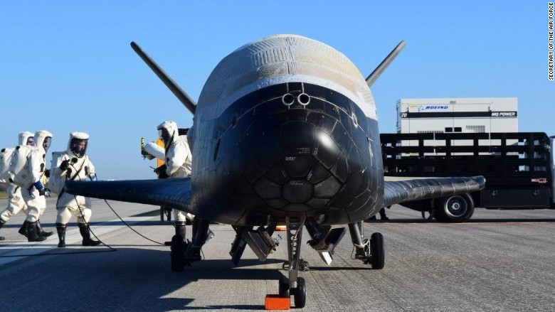 air force x 37B space plane
