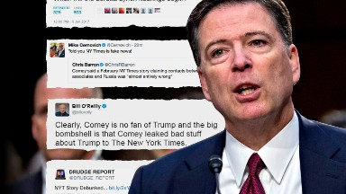 Pro-Trump media claims vindication in Comey hearing