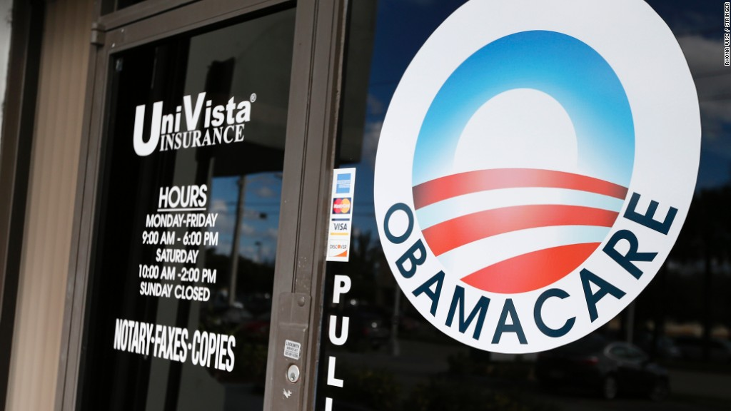 Obamacare enrollment slides to 10.3 million for 2017