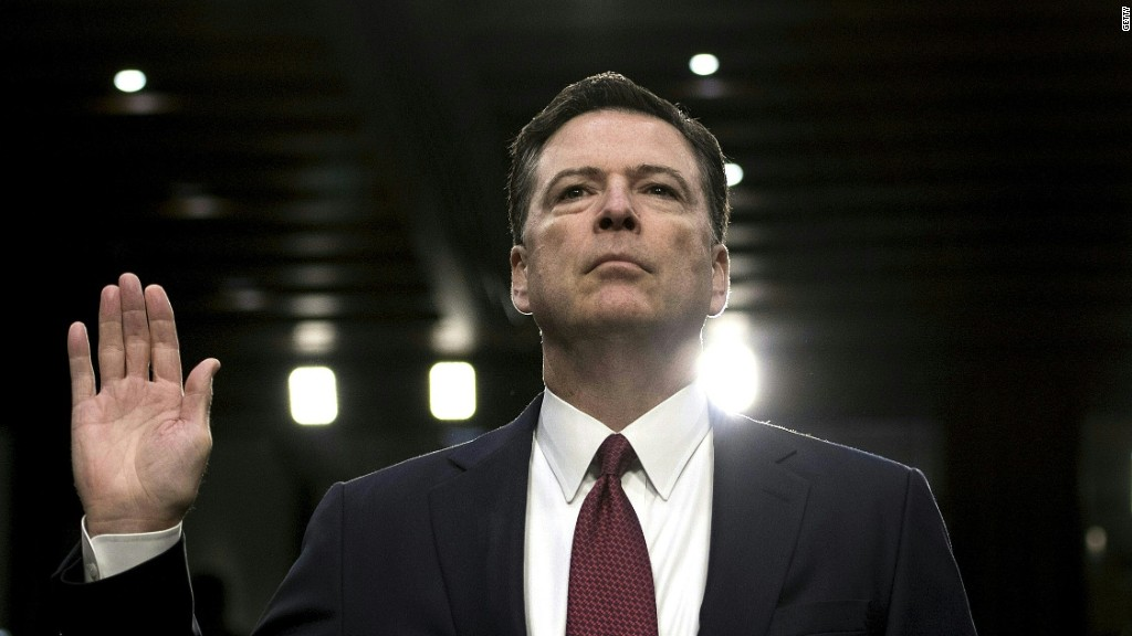 Comey hearing seen in the eye of the beholder