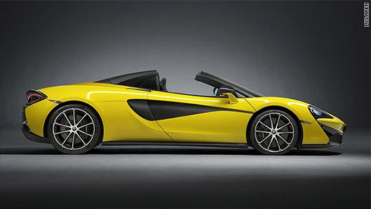 McLaren reveals 200 mph convertible