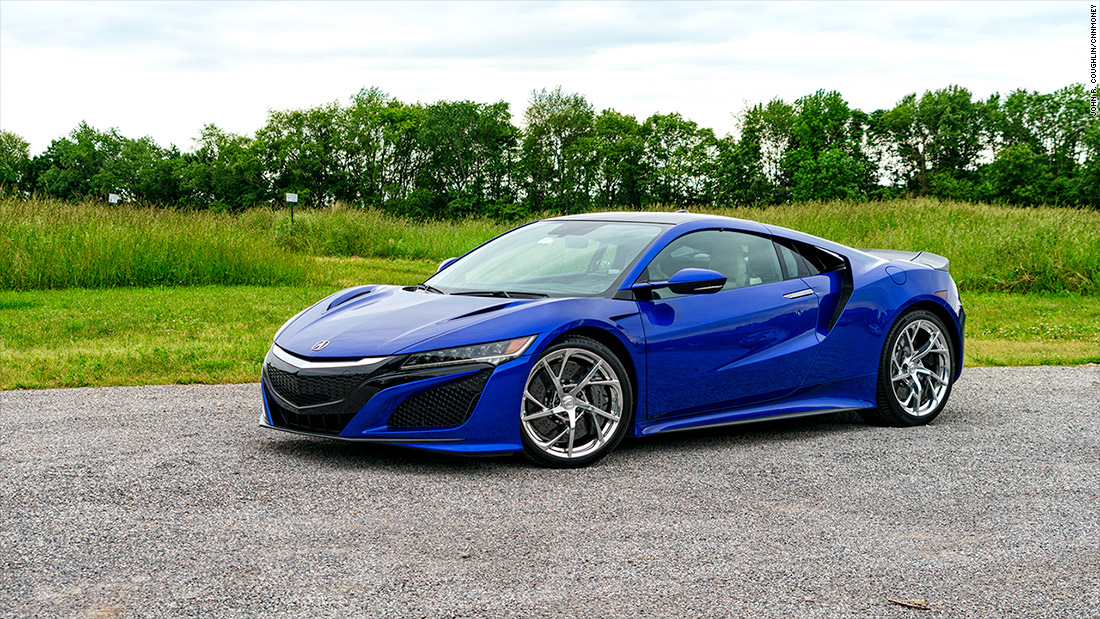 Acura NSX: Crazy, geeky fun