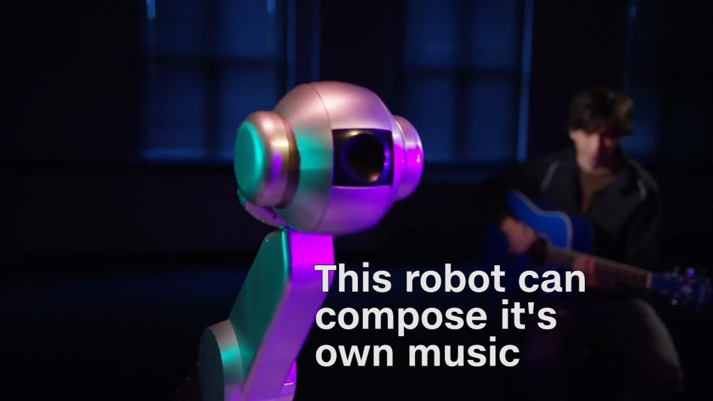 This robot just composed original music