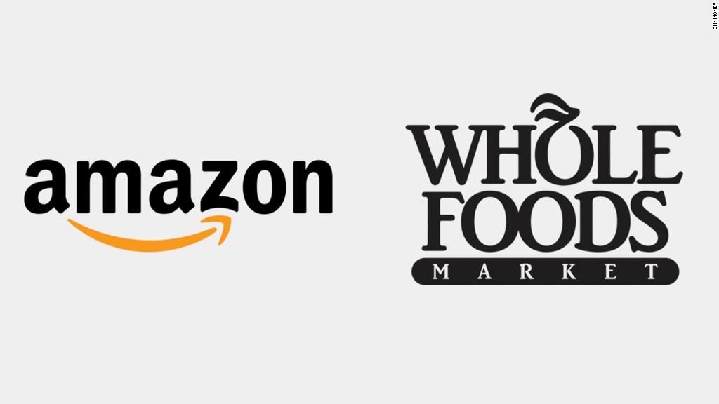 Amazon buying Whole Foods for $13.7 billion