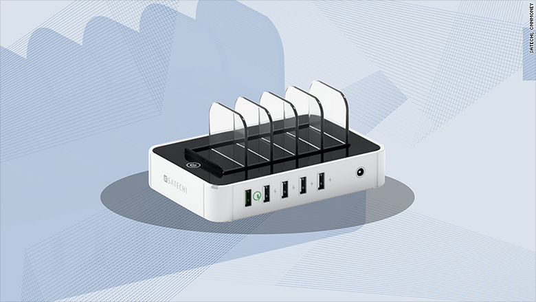 gallery satechi 5 port mini usb charger