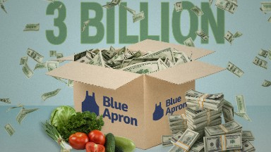Blue Apron says it could be worth $3 billion