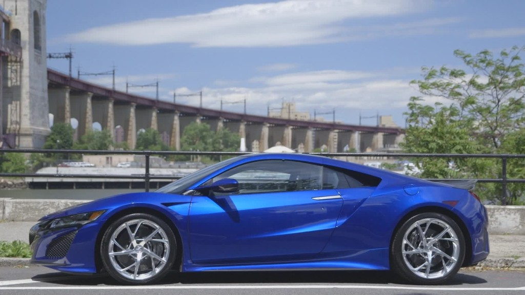 Acura NSX: Technology in overdrive