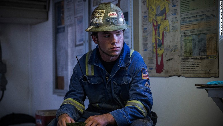 Young people don't want to work in oil industry