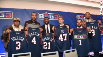 BIG3 BASKETBALL PLAYERS