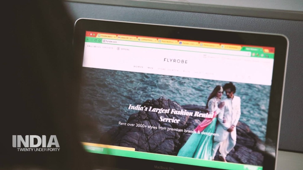 Flyrobe: India's 'national shared wardrobe'