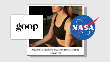 Gwyneth Paltrow's Goop gets called out by NASA over healing stickers