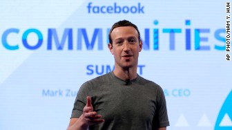 mark zuckerberg communities summit