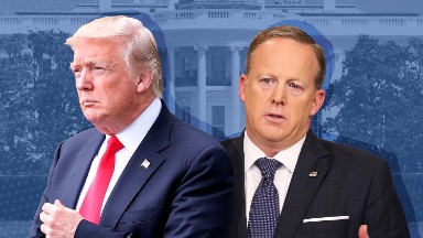 White House-media relations at breaking point as Spicer searches for replacement