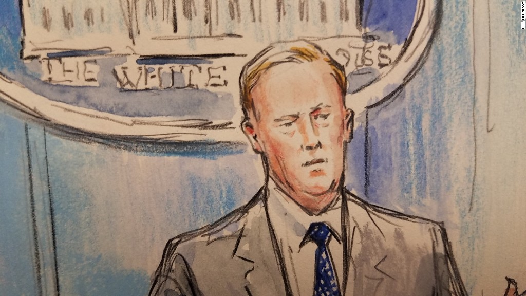 CNN sends sketch artist to press briefing