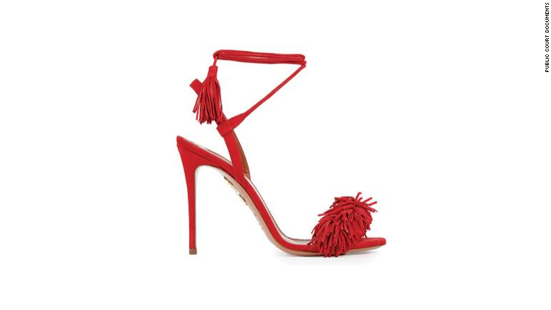 aquazzura wild things shoe