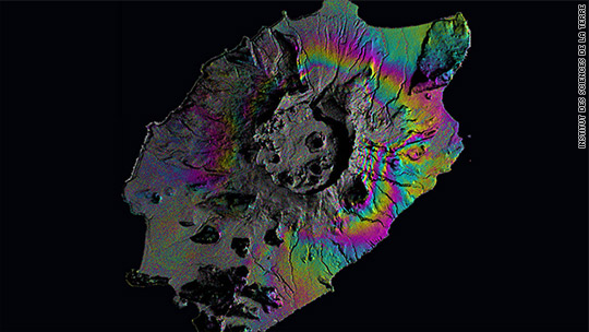 Predicting volcanic eruptions with GPS