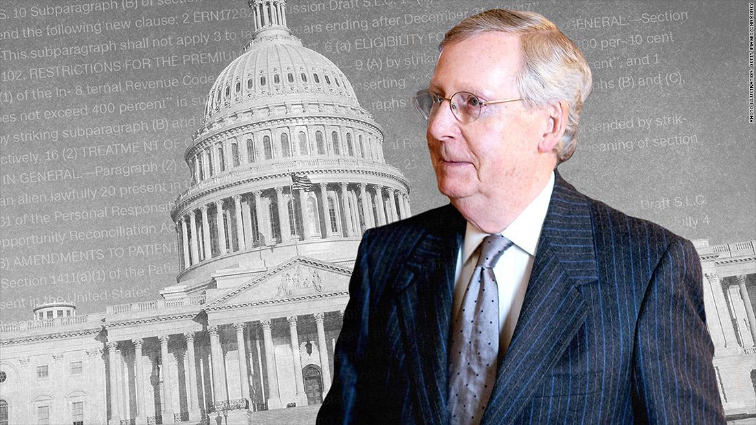 22 million fewer Americans insured under Senate GOP bill