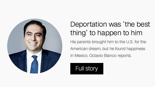 Deported to Mexico