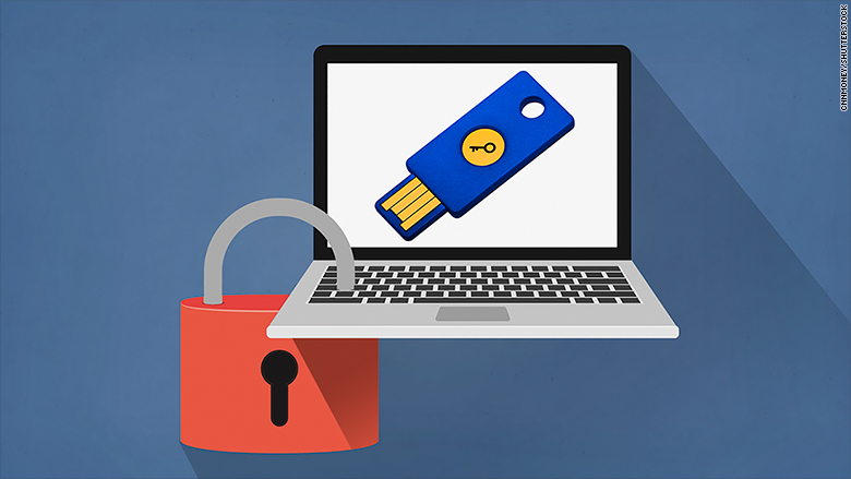 yubikey protect hackers