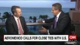 Aeromexico CEO deepens links with U.S. despite border politics