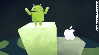android iphone world domination