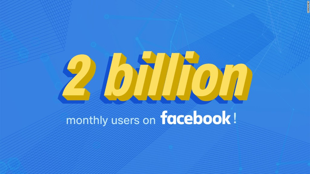 Facebook reaches 2 billion monthly users