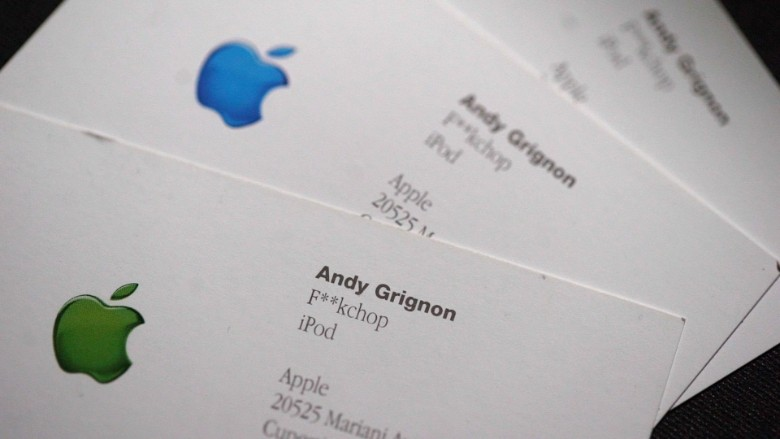 Steve Jobs Business Card 44233 Loadtve