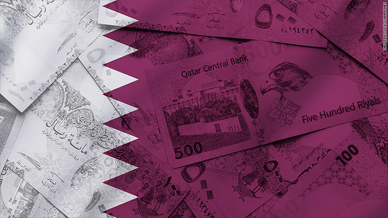 British banks have stopped selling Qatari cash