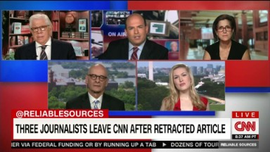 Three journalists leave CNN after retraction