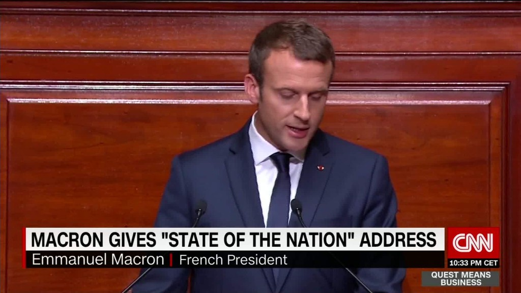 Macron to shake up French economy