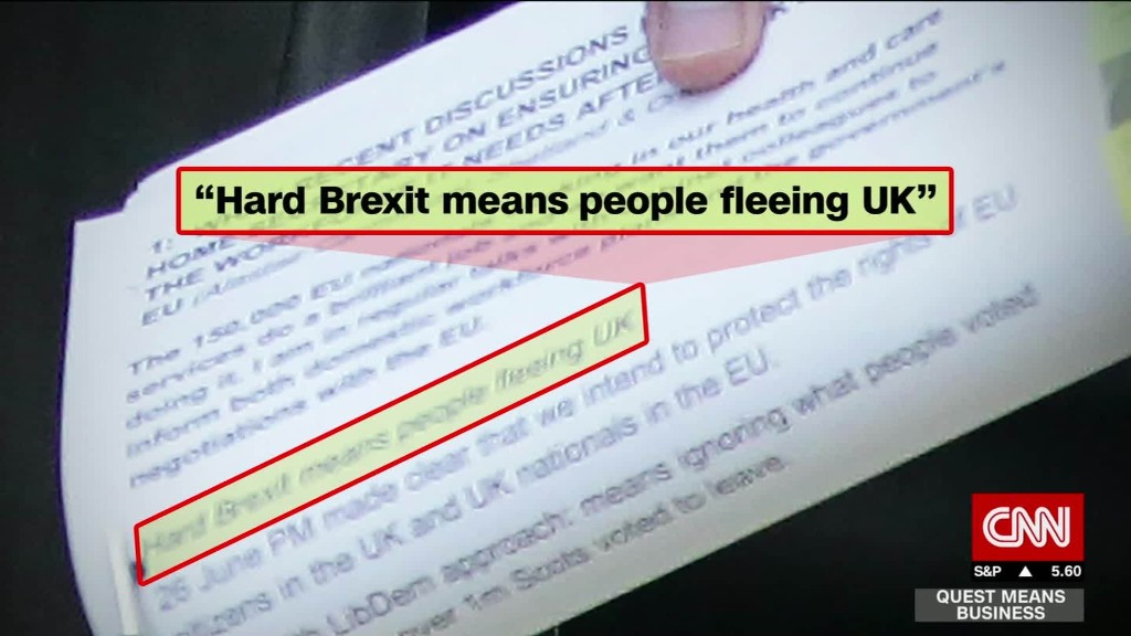 Will 'Hard Brexit' send people fleeing UK?