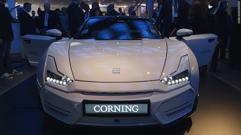 Image result for Corning car