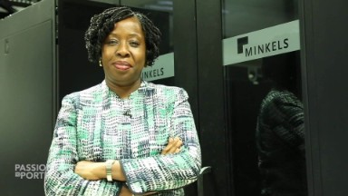 The woman powering broadband in West Africa