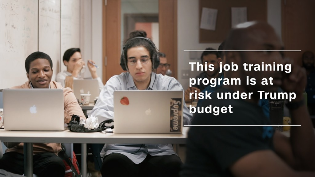 This job training program is at risk under Trump budget