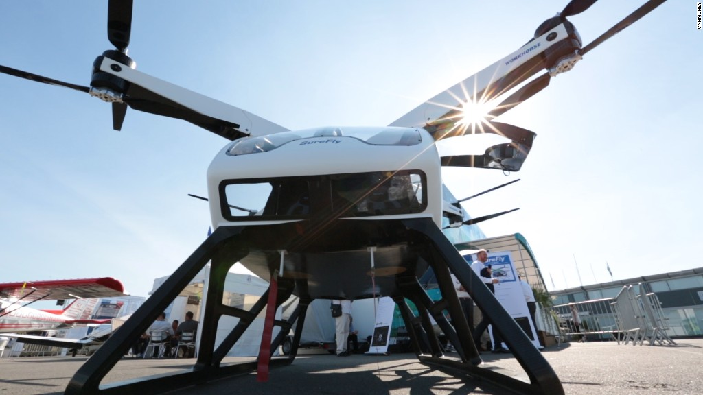 This drone-like octocopter wants to carry people
