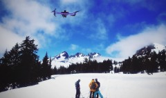 Programmable drone will follow you down the slopes