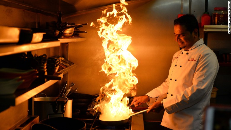chef fire bengal uk cuisine