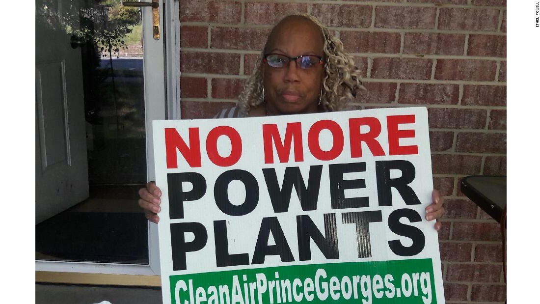 Cluster of power plants divides a Maryland community