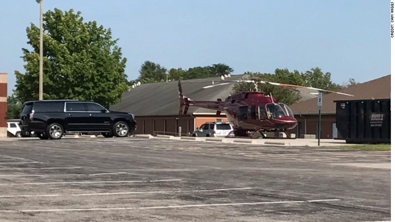 anheuser-busch ceo helicopter