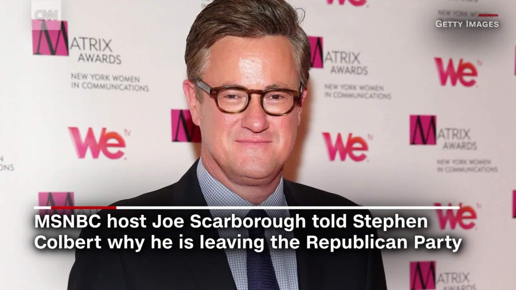 Scarborough ditches the GOP
